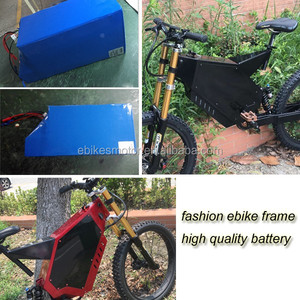 fat tire high performance electric bicycle great power polymer li-ion battery