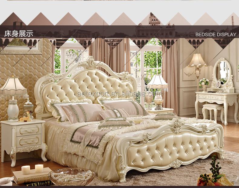 2015 heißer verkauf möbel europäischen stil schlafzimmer-sets ...