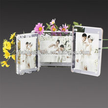 Specialized grande acrilico wedding photo frame wholesale