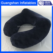 luxury personalized inflatable travel neck pillow