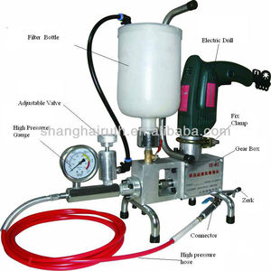 IE-02 Epoxy resin injection pump for waterproofing