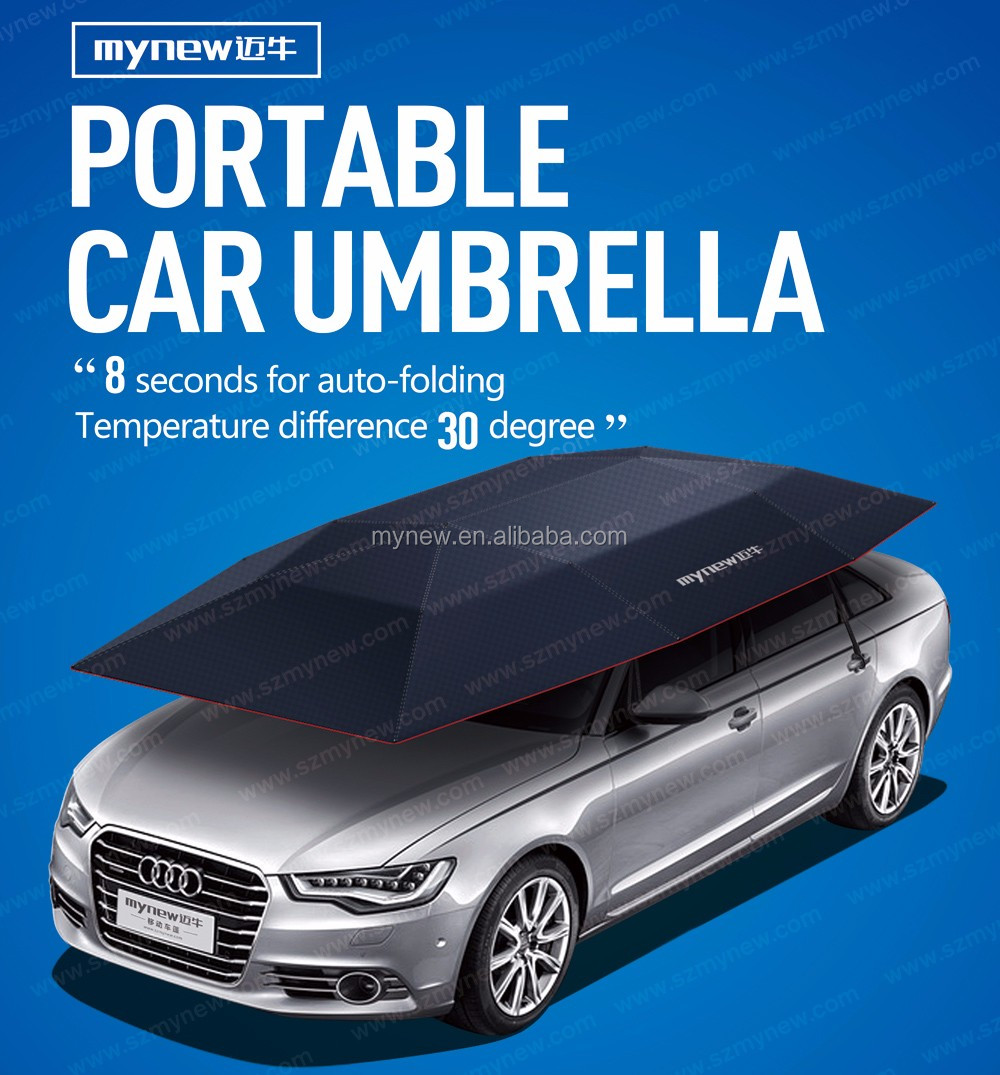 the best dark blue factory automatic car sun shade with wireless