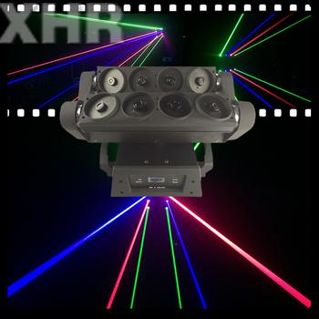 rgb spider laser 8 eyes spider laser moving head lights buy rgb