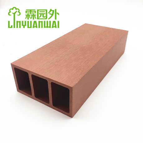 Zhejiang Anji LYW no hazard chemical wood plastic composite wpc beam
