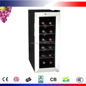 12 Bottles Thermoelectric Stainless Steel Wine Cellar CW-35AD2