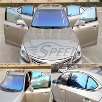 High IR rejection VLT 83% chameleon car window tinting film