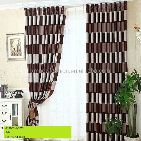 Curtains Ideas black and white patterned curtains : Black And White Patterned Curtain Plain And Classical Style ...