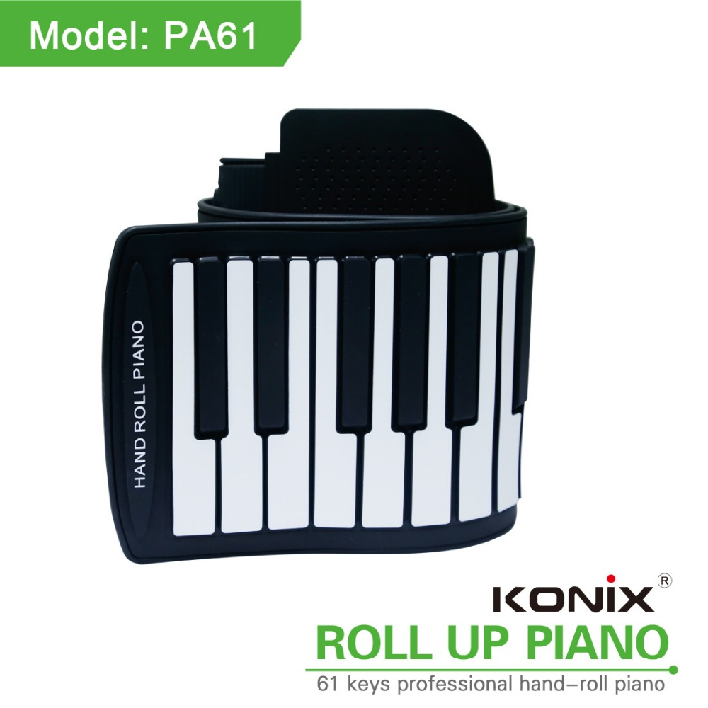 Konix Kids Roll Flexible Music Piano 61 Key Virtual Keyboard Piano Usb Shop  China Korg Piano Educational Supplies Keys Walmart - Buy Flexible Piano,61