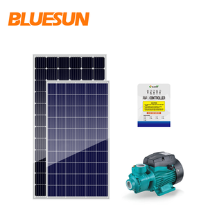 1kw 2kw 1hp 2hp good price solar powered water pump system sunlight solar pv module system for agriculture