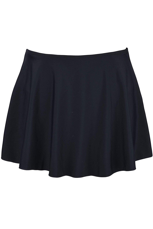 77f24def92 Get Quotations · Firpearl Women s Swimsuit Bikini Tankini Bottom Swim Skirt  With Panty