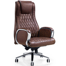 Luxe confortable <span class=keywords><strong>en</strong></span> <span class=keywords><strong>cuir</strong></span> véritable chaise <span class=keywords><strong>de</strong></span> <span class=keywords><strong>bureau</strong></span> YS1202A à dossier haut chaise <span class=keywords><strong>de</strong></span> directeur