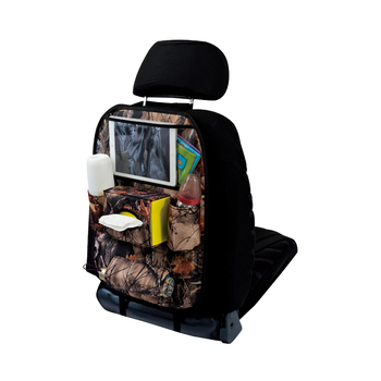 Multifunction Baby Eco Friendly Car Back Seat Organizer With Tray