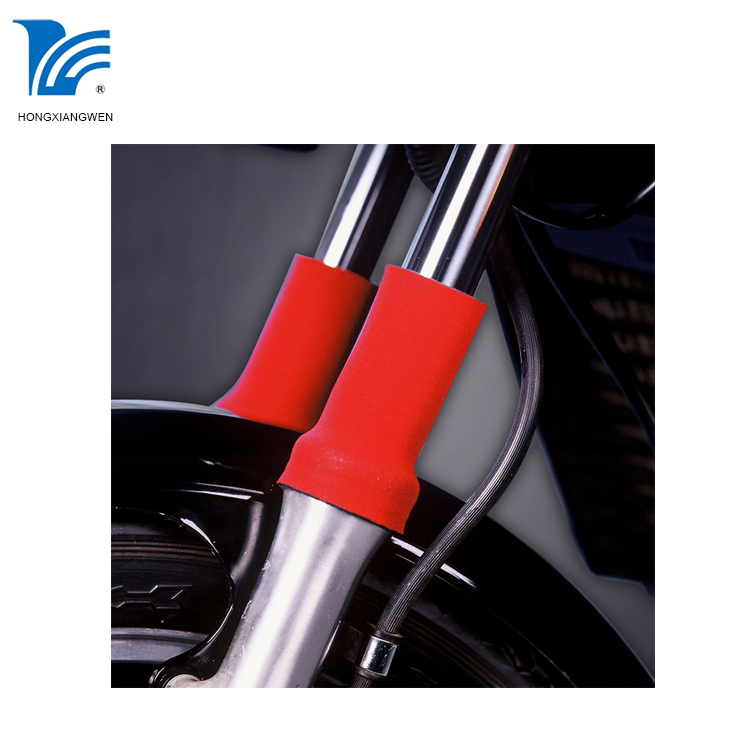 Motorcycle neoprene fork protector for nearly all motorcycle forks
