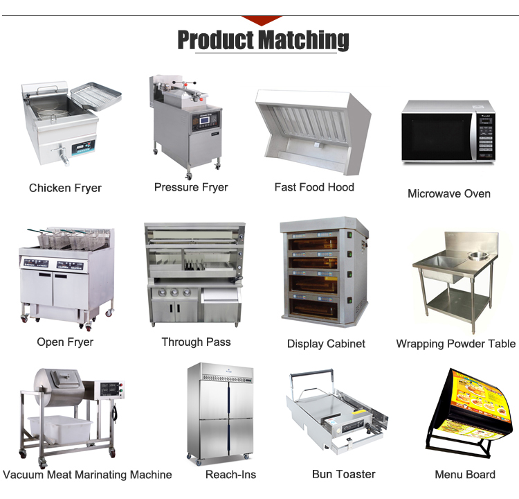 Simple Operation 28L 1-Tank 2-Basket Electric Chicken Fryer with Knob Control