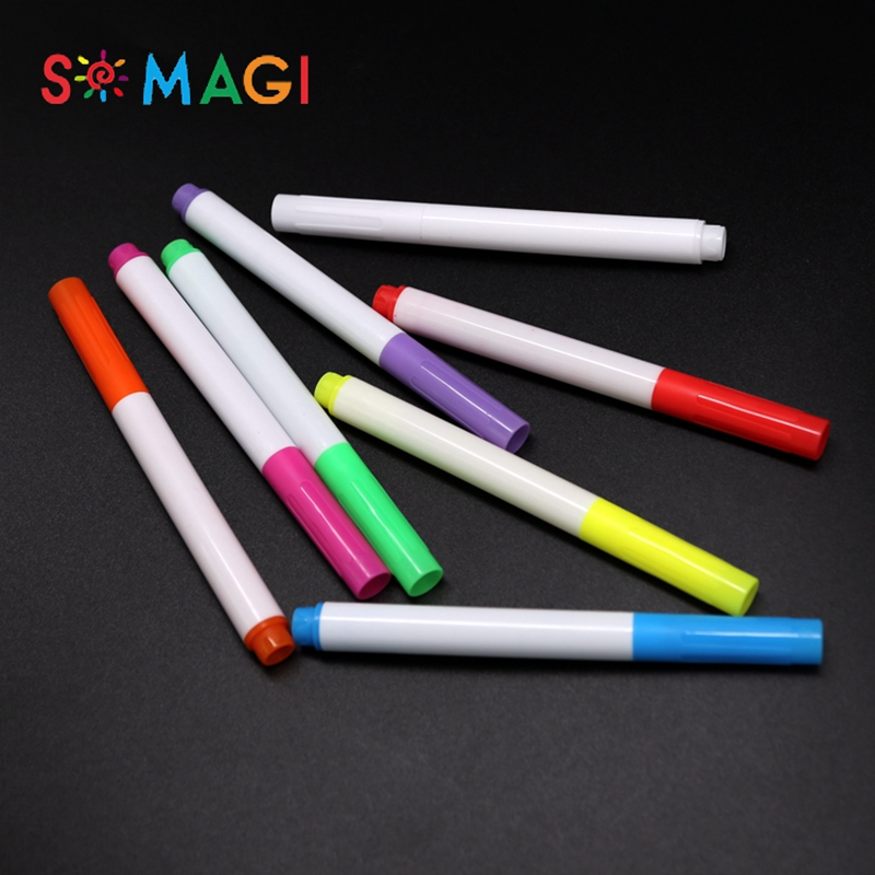 High quality fine tip fabric marker pen best selling on amazon non-toxic safety for kids diy T-shirt drawing