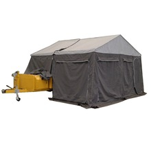 off road kit camper trailer with camping tent