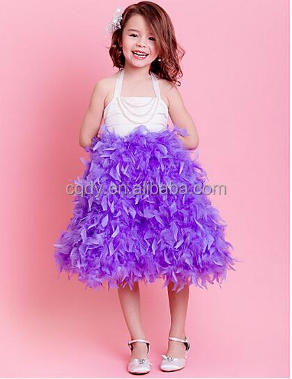 2015 Children's Wedding Dress Kids Strapless Dresses Kids Fashion ...