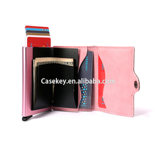Stable and reliable portable business name card case