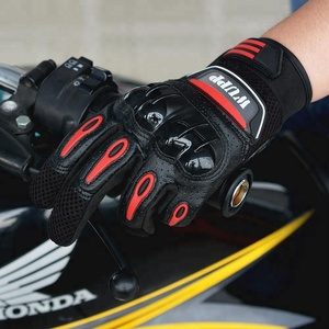 Full Finger Personalized Custom Motorcycle Riding Gloves