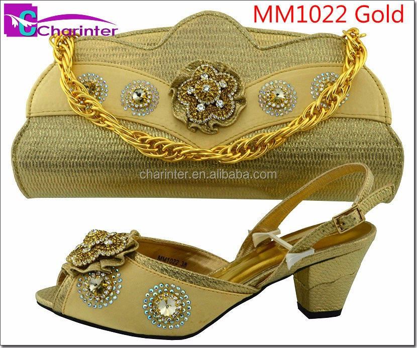 ladies shoes/ladies shoes and matching bags/italian shoes and bag set MM1026