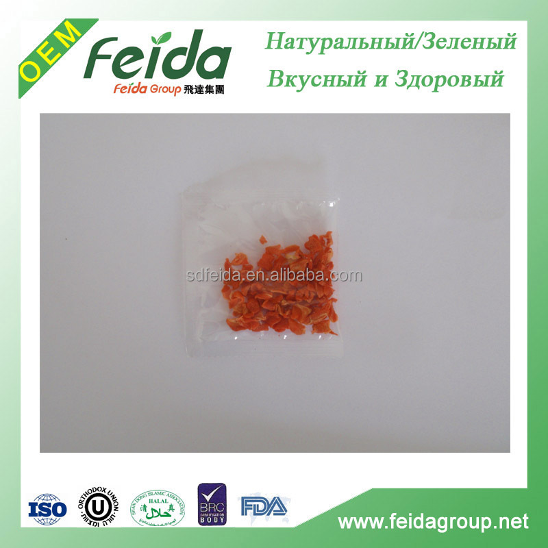 dehydrated carrot granules dehydrated vegetable for instant noodle
