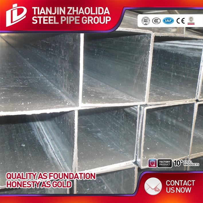 Q195 Q235 Q345 welded * galvanized tubes x 40 pipe square steel pipes for building material