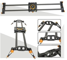 Professional 60CM 100CM 80cm travel portable carbon fiber camera slider design video dolly track jib dslr rail diy dslr
