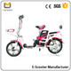 LS5-3 CE Approved Li Po Battery Two Seats 350W Adult Electric Scooter Moped With Pedal