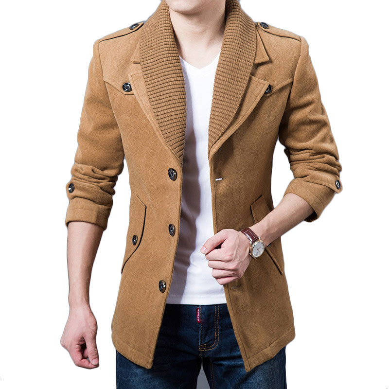 Cheap Mens Wool Blend Coat, find Mens Wool Blend Coat deals on ...
