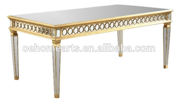 Professional Factory Price 2019 hot sale otobi furniture price mirrored office table