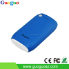 Guoguo Leather 4400mAh Lipstick-Sized Portable Charger External Battery Power Bank for iPhone 6 Plus 5S 5C 5 4S