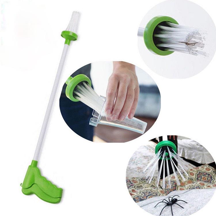 Insetto Ragno Catcher-Lungo Tenuto in Mano Strumento di Trappola Bug Cattura di Controllo Dei Parassiti per Ragni/Scarafaggi/Mouse