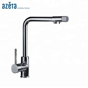 Kitchen Tap 3 Way Hot Cold Water Function With Purifier Drinking Water Faucet