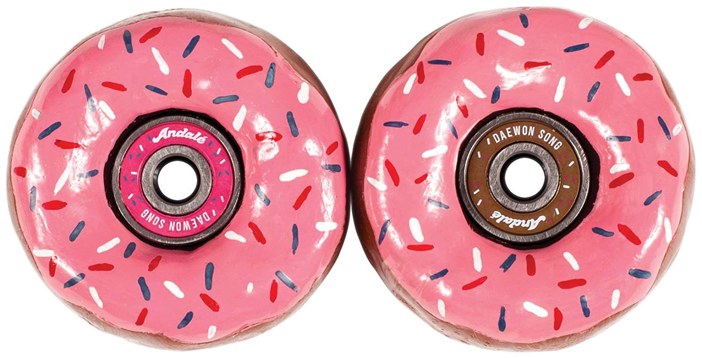 Andale Daewon's Donuts Skateboard Bearings w/Wax