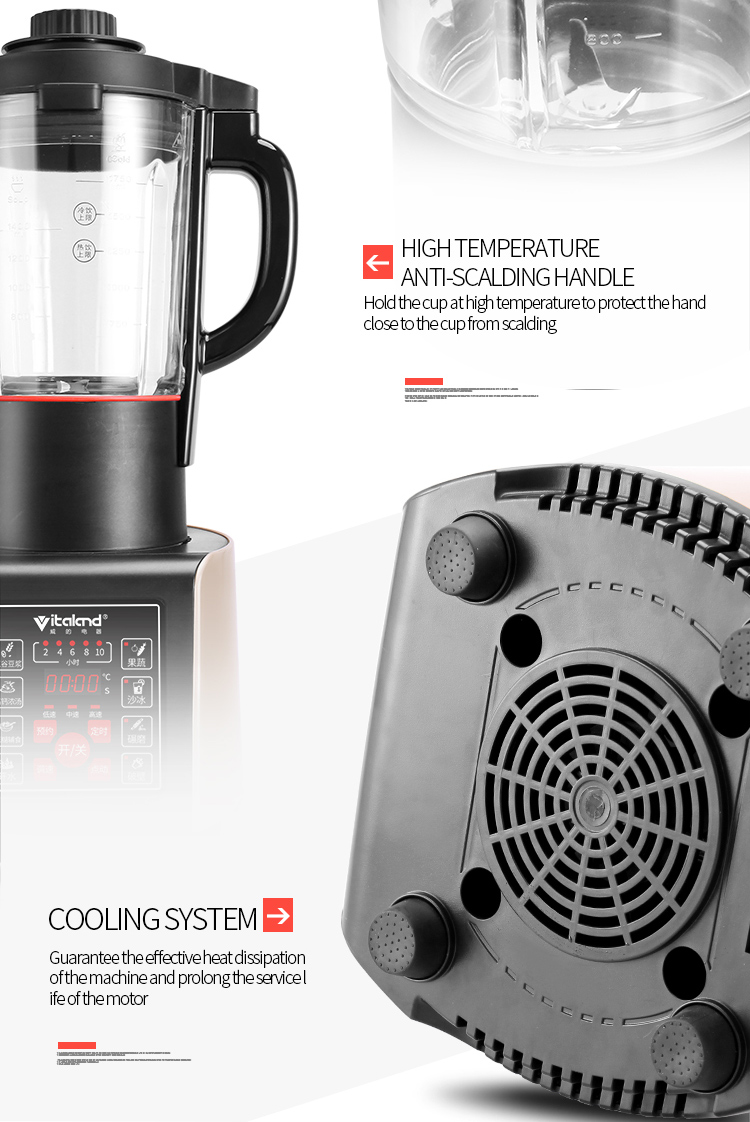 hot sale 1850w commercial blender with multi-functions from China VL-688B4