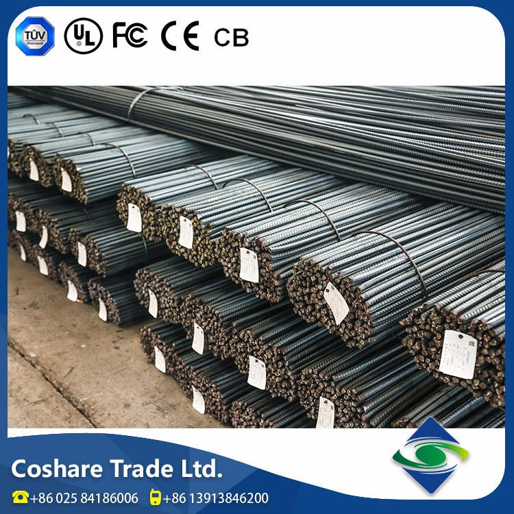 COSHARE Enough experience Product diversity reinforced Hot Rolled Ribbed steel bar specification