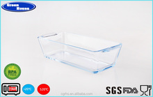 LFGB,FDA,CE / EU,SGS, Certification and Springform & Cheesecake Pans Baking Dishes & Pans Type pyrex Glass Baking Tray