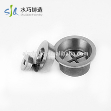 ISO9001 round 304 bathroom strainer accessory types floor drain grate