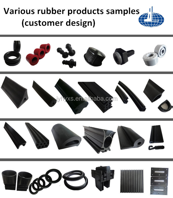 All kinds of epdm rubber products with foam and solid extrusion ,molding products for epdm gasket