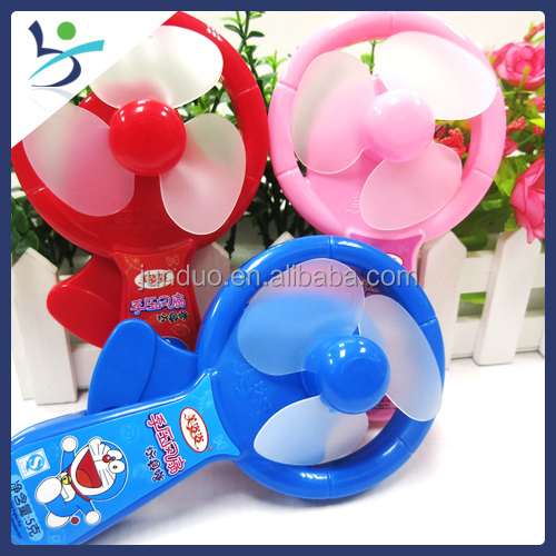 Doraemon Candy Toy New Manual-operated Chocolate Candy Toy Fan ...