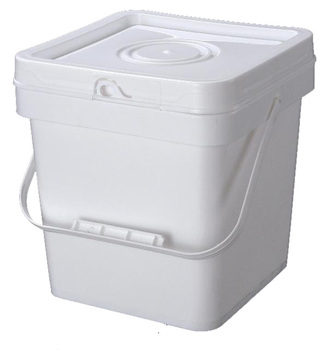 Washing powder storage square plastic buckets in 2L 5L 8L 10L 15L 18L 20L