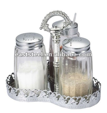 Glorious design 30 years experienced factory direct sale 40ml salt shaker in spice jar rack