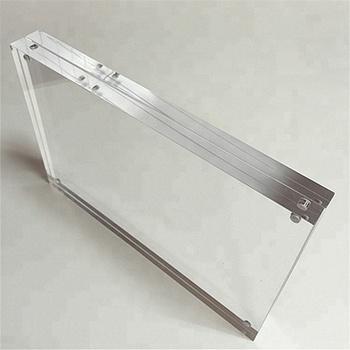 custom 5X7 Clear Acrylic Desk Magnetic Photo Frames, View 5x7 Clear ...