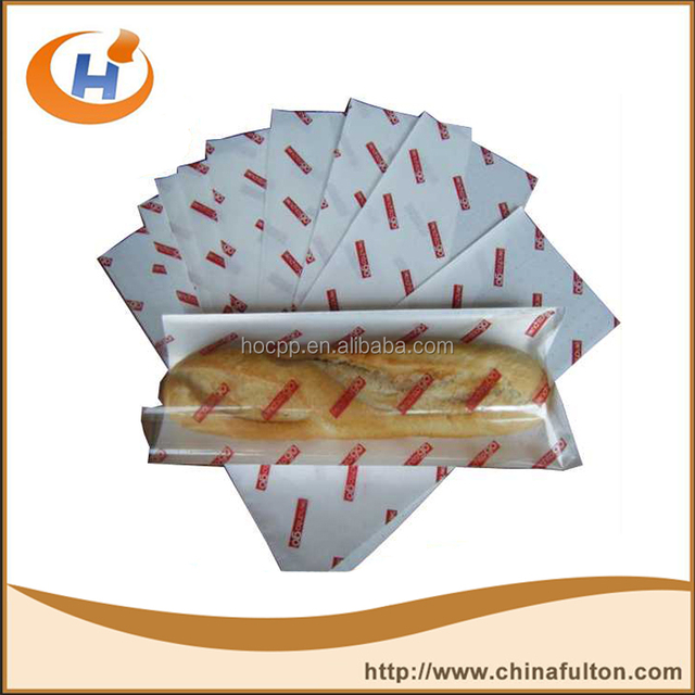 Specialty Paper Paper Type and Greaseproof Feature MG White Sandwich paper GPP73 Fulton