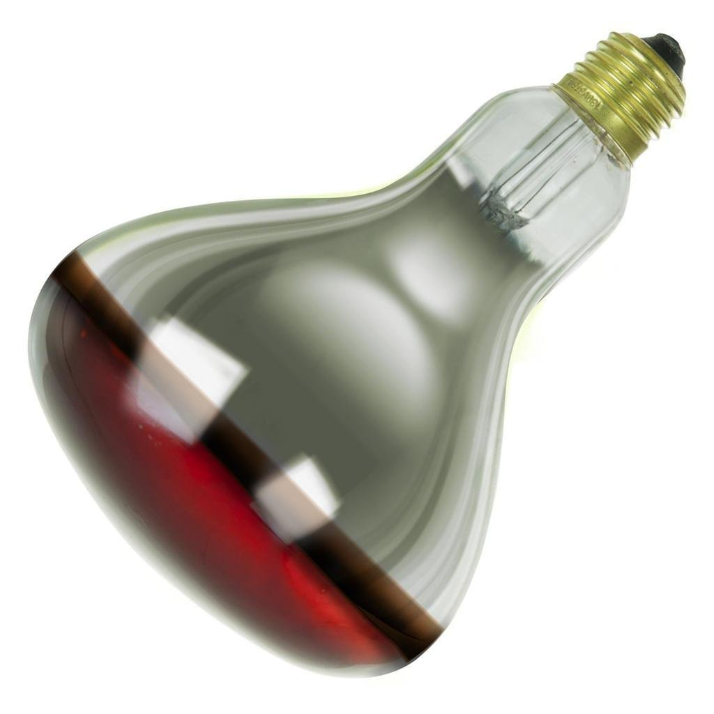 52965c09bae7 Get Quotations · 250 Watt Red Coated Infrared Heat Lamp Light Bulb