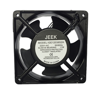 120MM Maxair Panel Axial AC Cooling Fan 220V For Server Rack Ball Bearing Fan