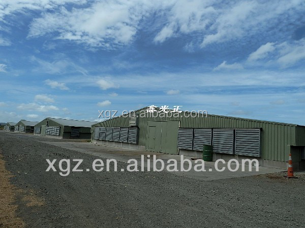 chicken feeder farm building poultry farm shed with automatic system