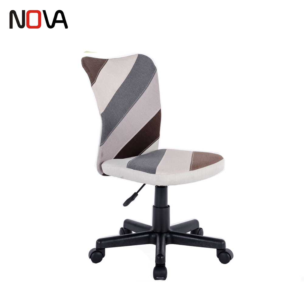 Nova Easy Home Cute Fabric Swivel Office Work Chair Without Armrest Buy Fabric Office Chair Cute Office Chair Easy Home Office Chair Product On Alibaba Com