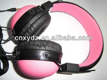 Headphone covers fashion cover rubber silk or water transfer printing your logo