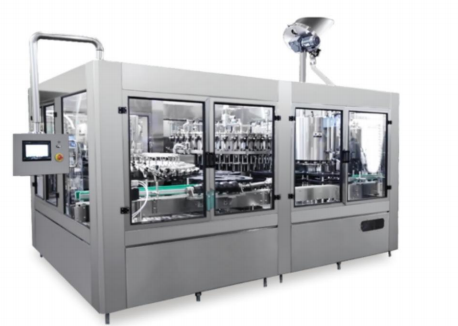 High speed automatic juicer bottle filling machine